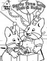 Max And Ruby Party Time Coloring Page
