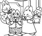 Max And Ruby Rubys Pajama Party F Large Max And Ruby Coloring Page