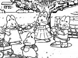Max And Ruby Soccer Coloring Page