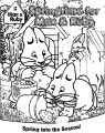 Max And Ruby Springtime Coloring Page