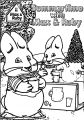Max And Ruby Summertime Coloring Page