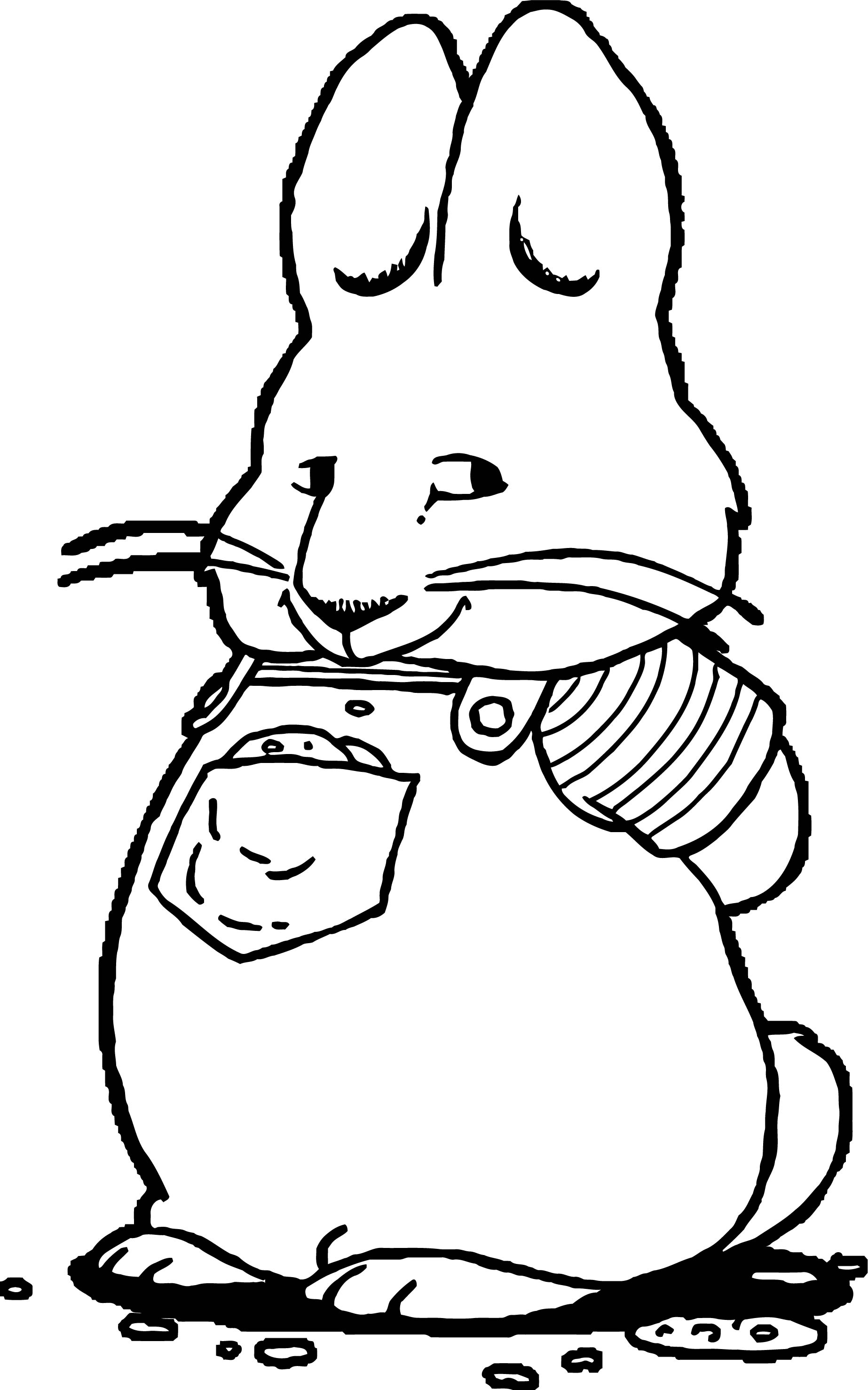 Max Max And Ruby Coloring Page