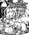Max Ruby Springtime For Max Ruby Max And Ruby Coloring Page