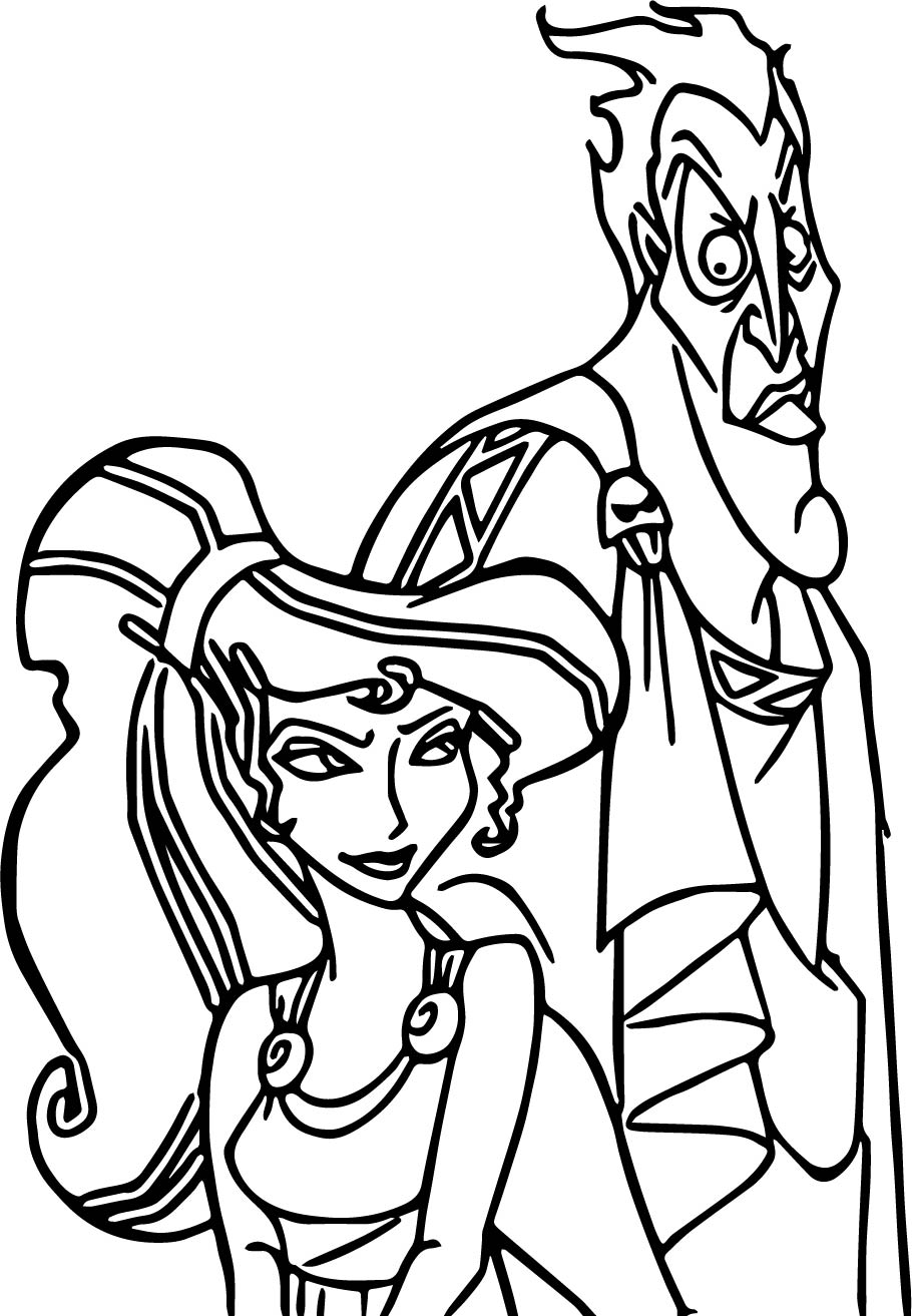 Meg Baddy Coloring Pages