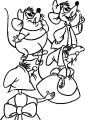Mice Happy Coloring Pages