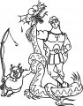 Monster Hercules Coloring Pages