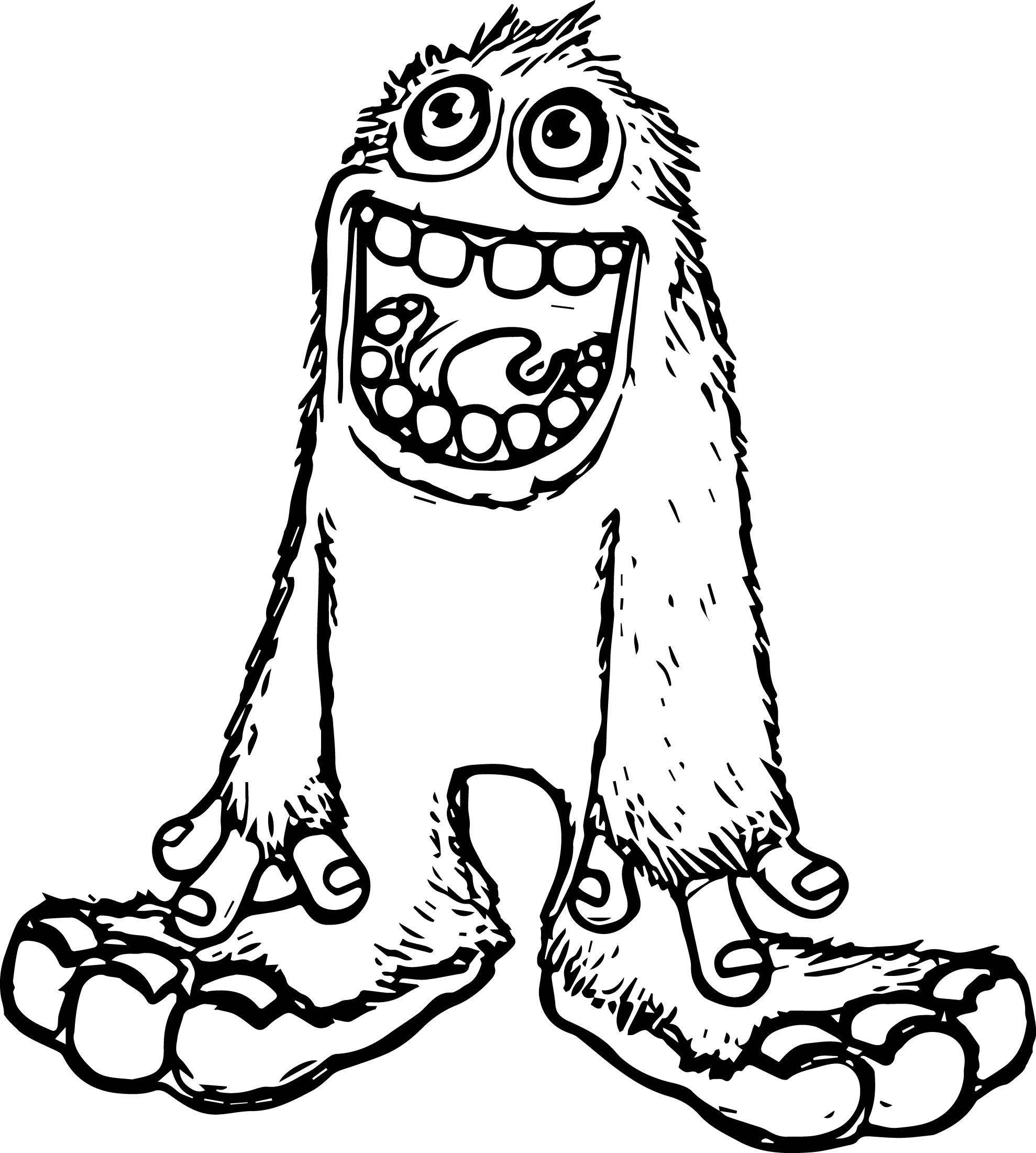 Monsters Coloring Page 16