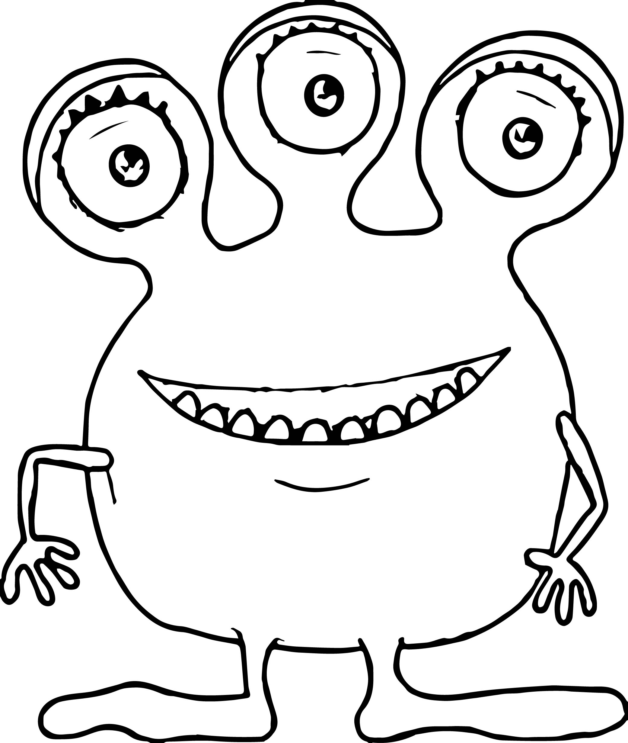 Monsters Coloring Page 20