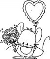 Mouse Coloring Page 22