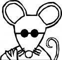 Mouse Coloring Page 26