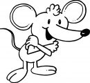 Mouse Coloring Page 29