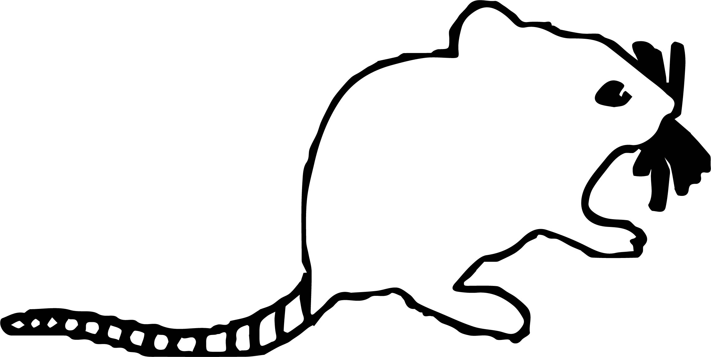 Mouse Coloring Page 34