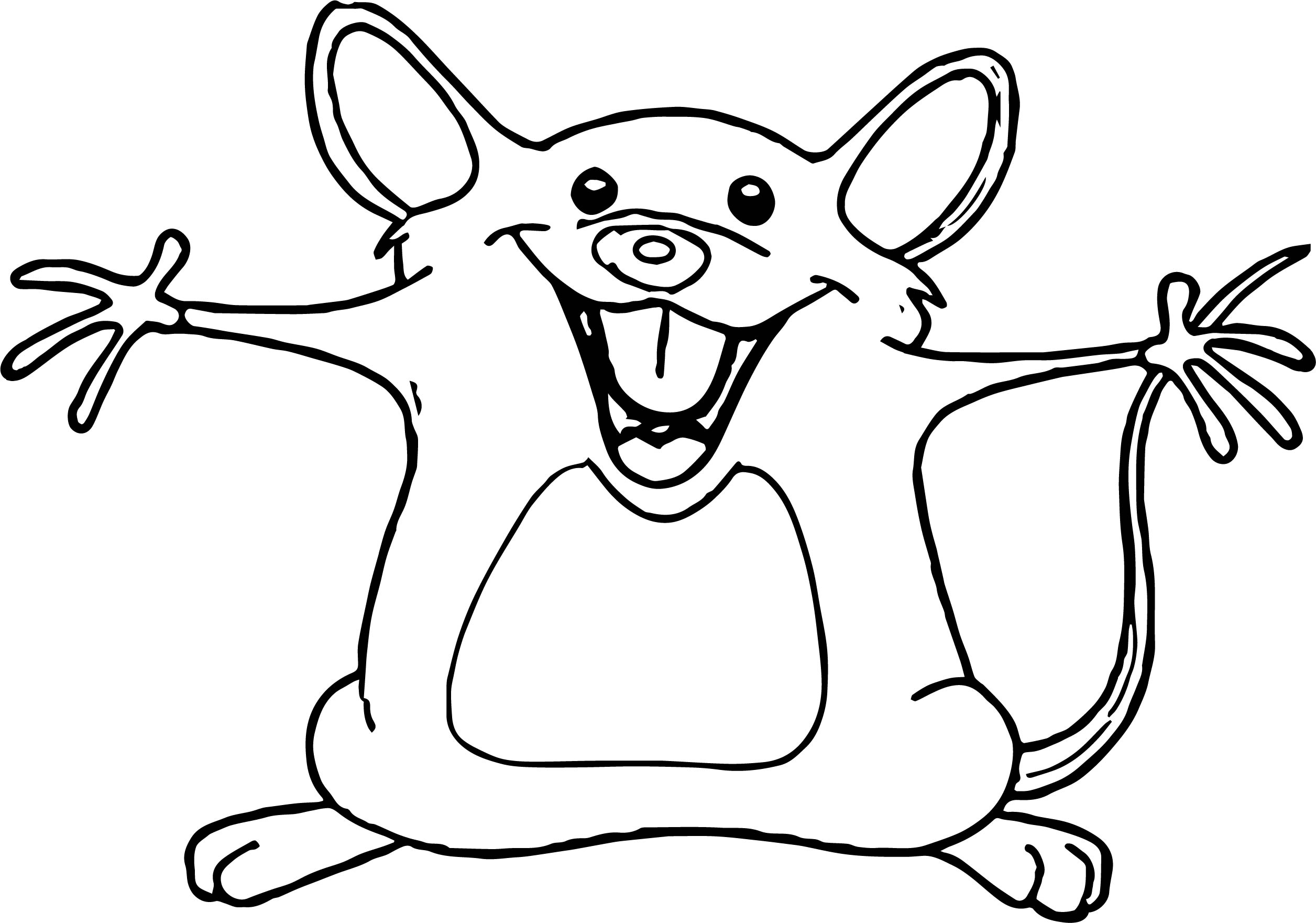 Mouse Coloring Page 46