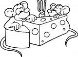 Mouse Coloring Page 48