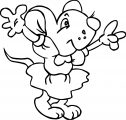 Mouse Coloring Page 49