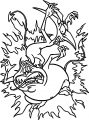 Painpa Hercules Creature Coloring Pages
