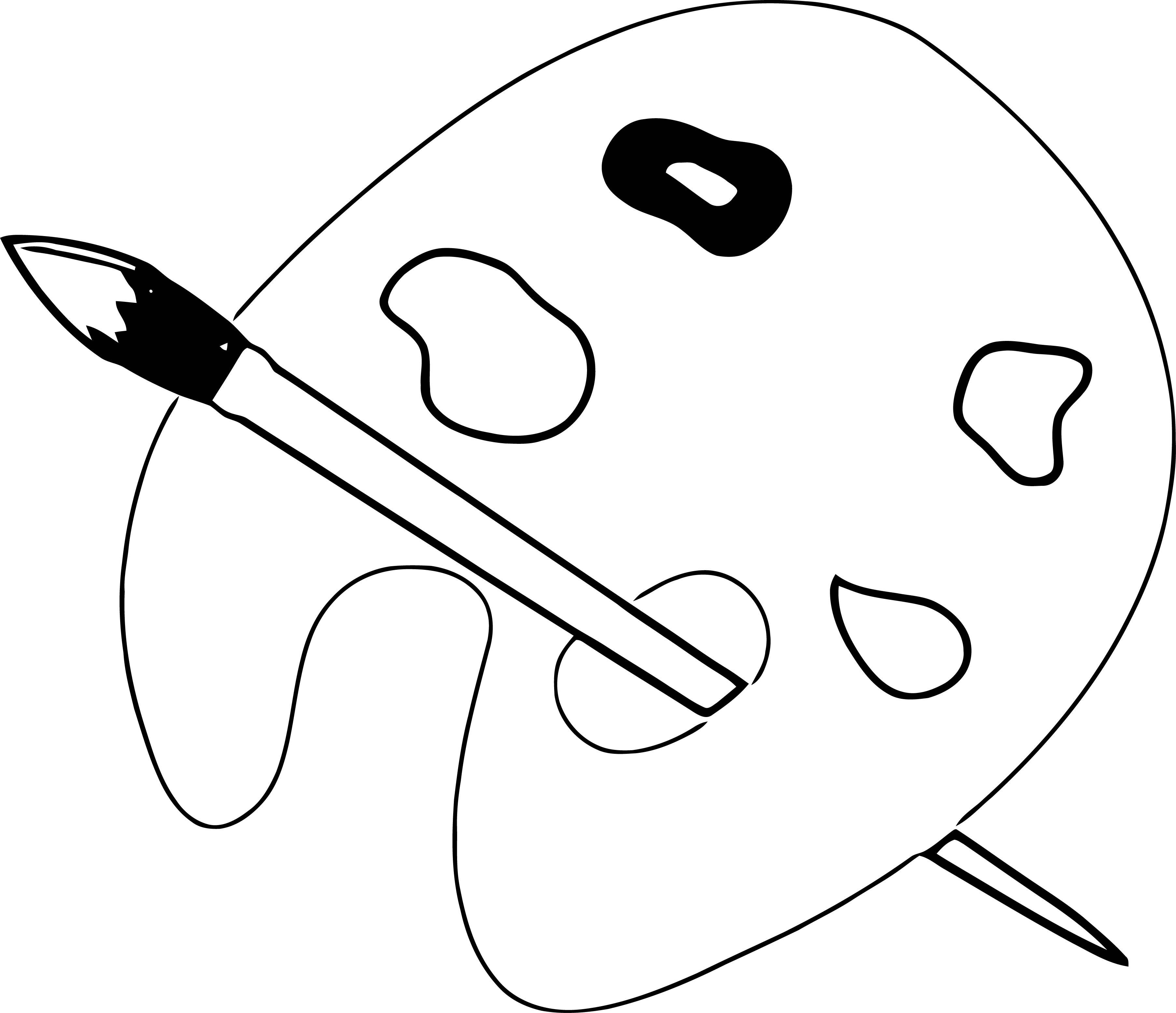 Painter Pen Just Coloring Page