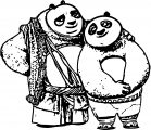 Po And Li Coloring Page