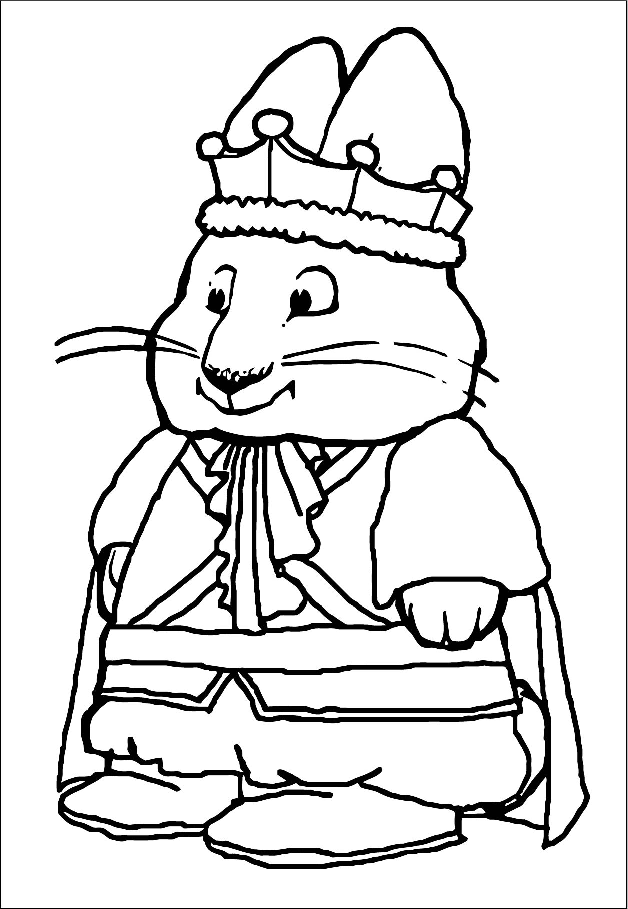 Prince Max Max And Ruby Coloring Page