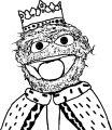 Prince Oscar Sesame Street Sesame Street Coloring Page