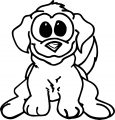 Puppy Dog Hope Coloring Page