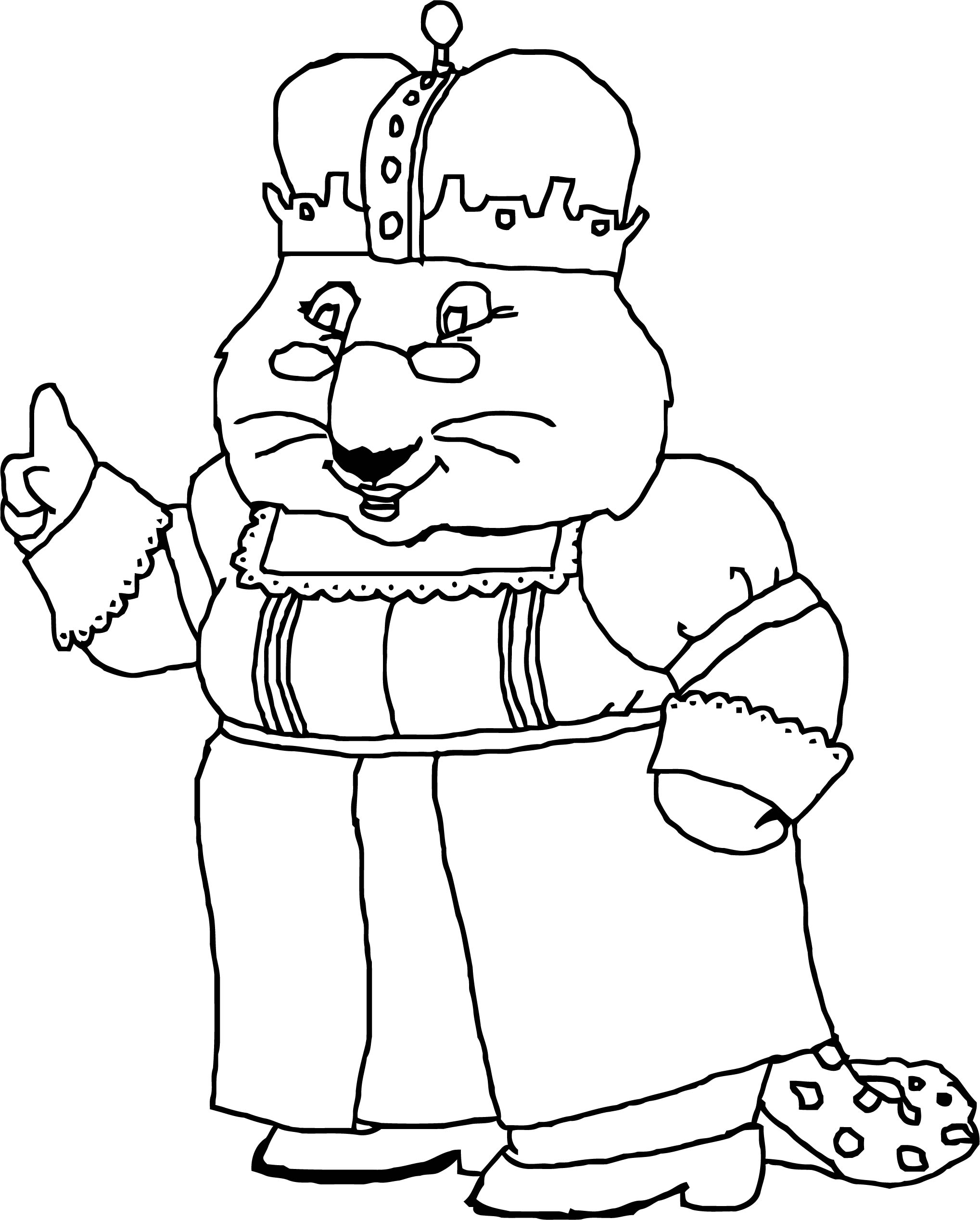 Queen Grandma Max And Ruby Draw Coloring Page