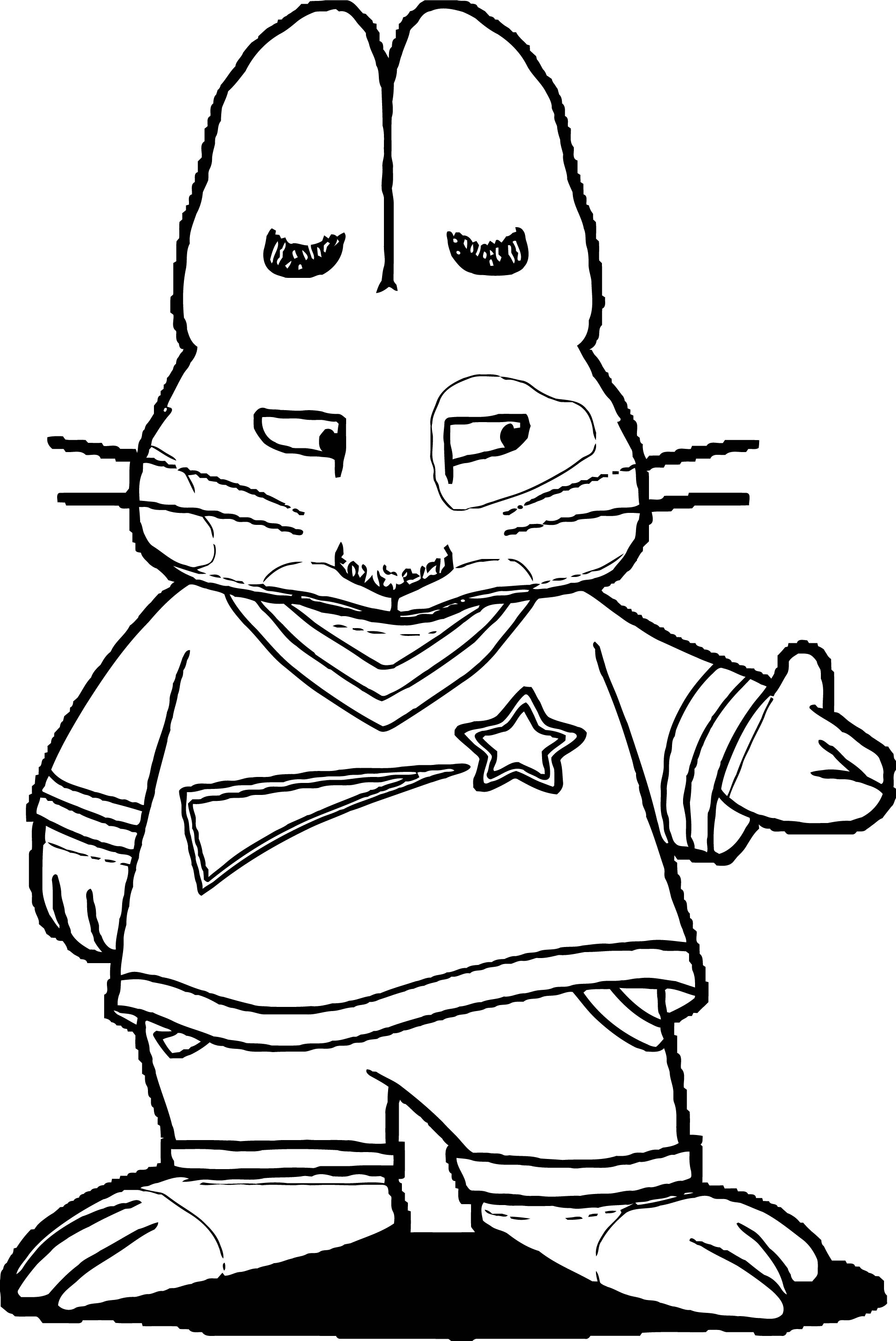 Roger Max And Ruby This Coloring Page