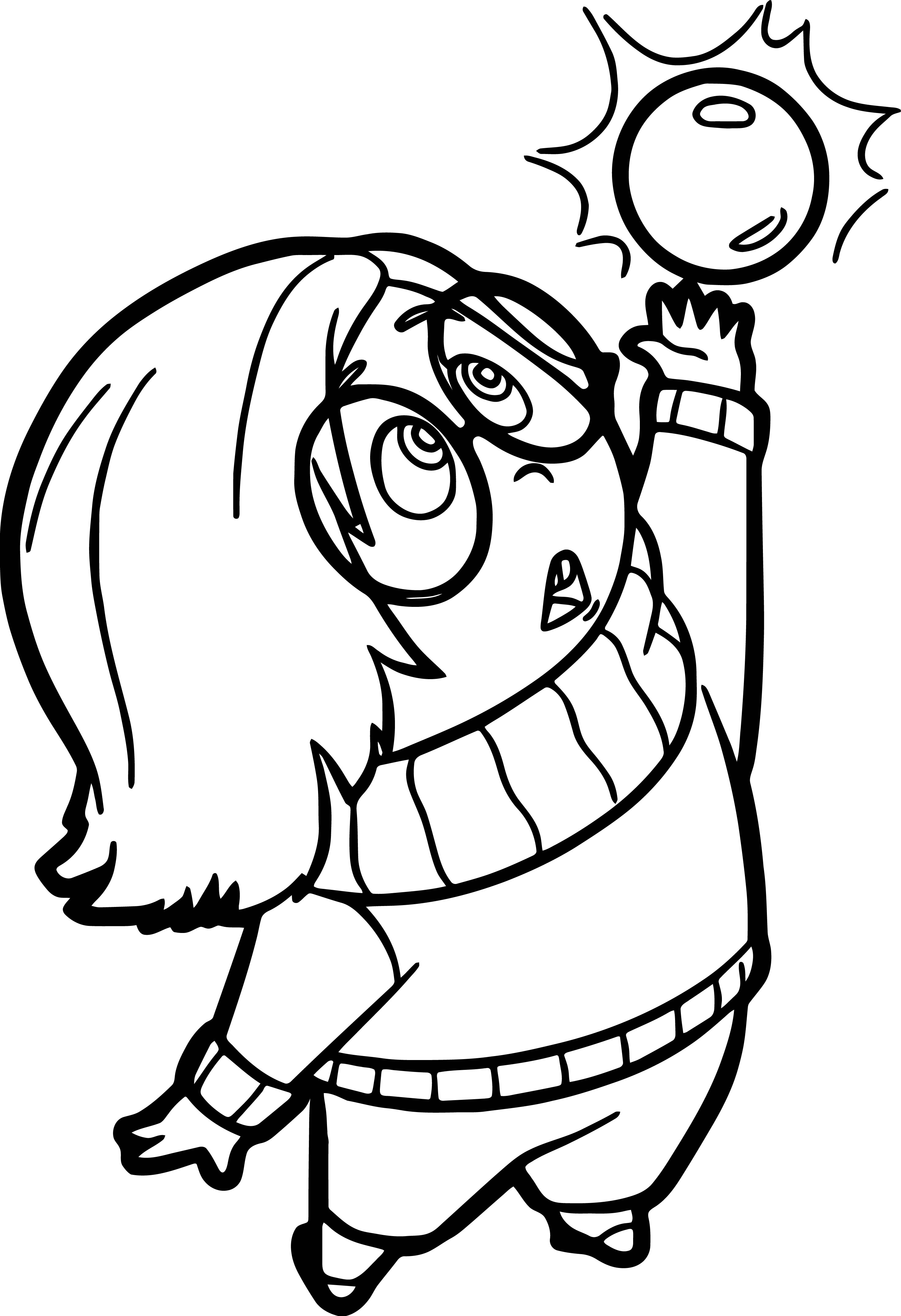 Sadness Sphere Coloring Pages