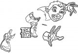 Teen Titans Beast Boy True Coloring Page