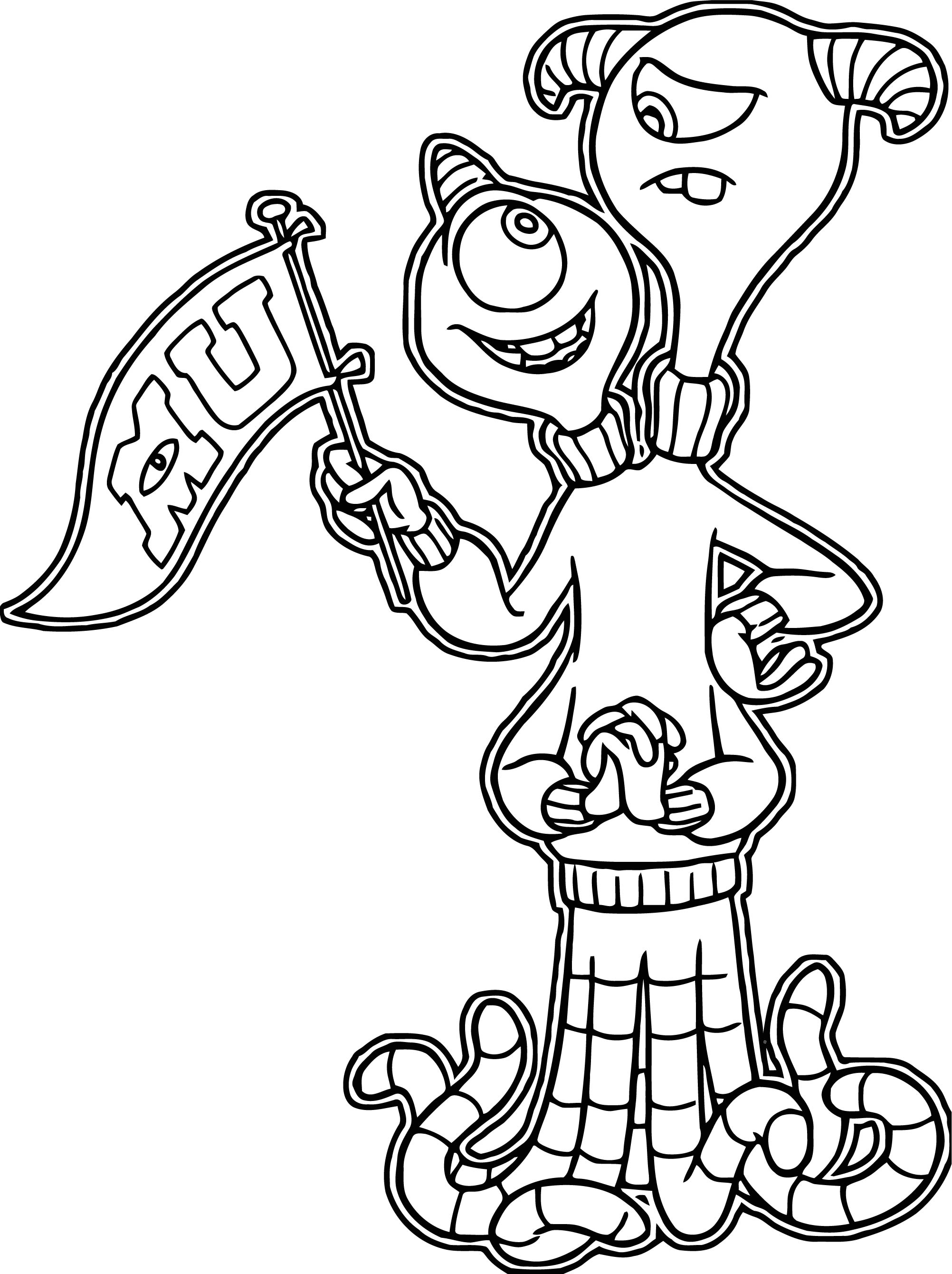 Terriand Terry Perry Coloring Page