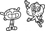 The Amazing World Of Gumball Asset Coloring Page