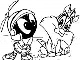 The Looney Tunes Coloring Page 02