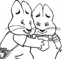 The Photo Booth Max And Ruby Coloring Page