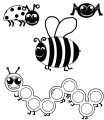 bug all insect coloring page