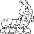 bug carson dellosa insect coloring page