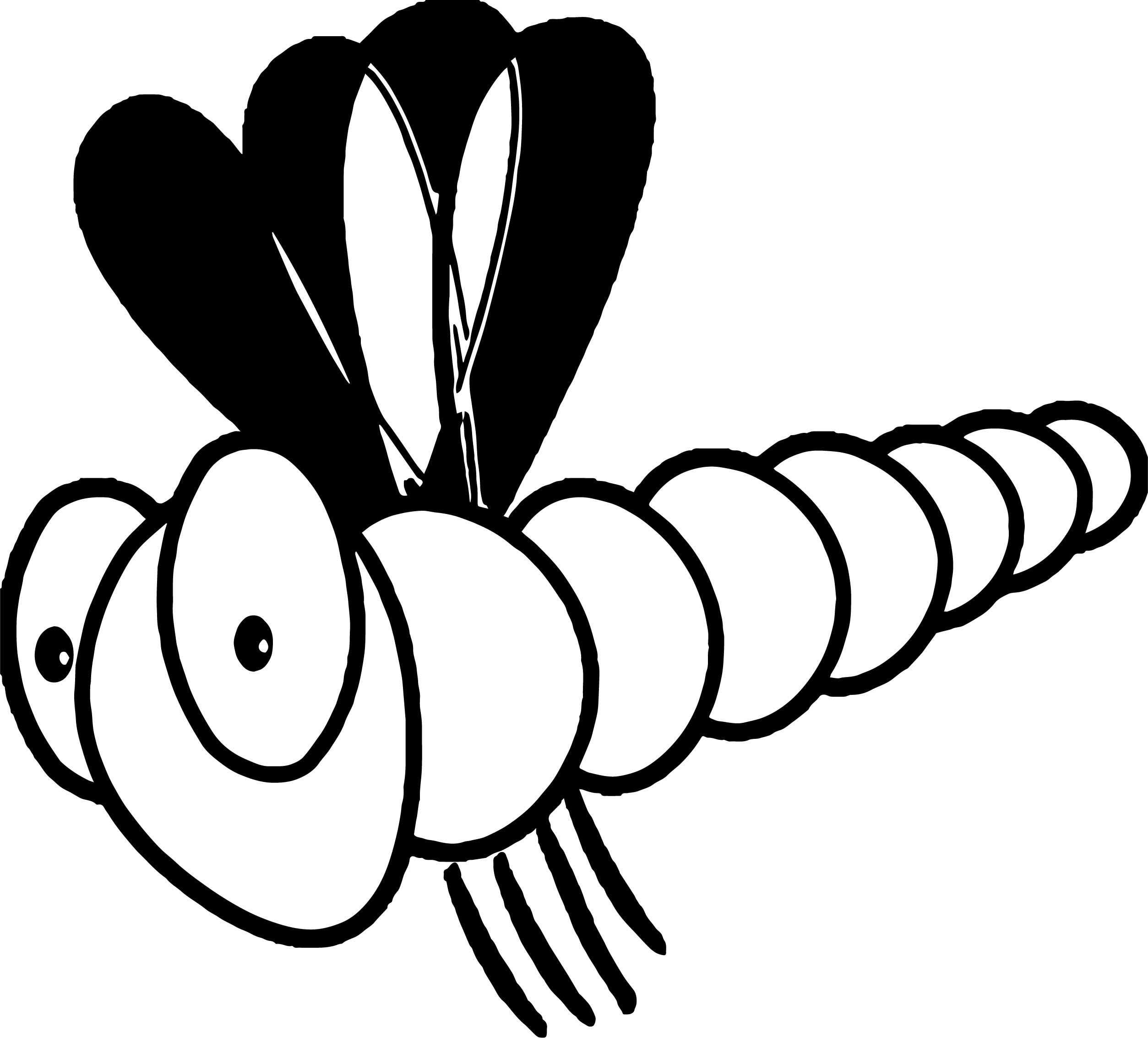 dragon fly 2 insect coloring page