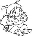 Boo Girl 3 Coloring Pages