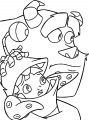 Disney Monsters Coloring Pages 16