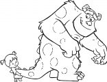 Disney Monsters Coloring Pages 18