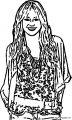 Hannah Montana Coloring Page 04