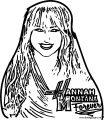 Hannah Montana Coloring Page 05