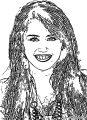 Hannah Montana Coloring Page 17