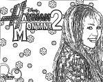 Hannah Montana Coloring Page 21