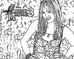 Hannah Montana Coloring Page 28