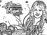Hannah Montana Coloring Page 36