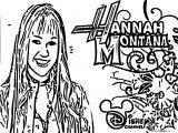 Hannah Montana Coloring Page 44