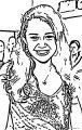 Hannah Montana Coloring Page 56