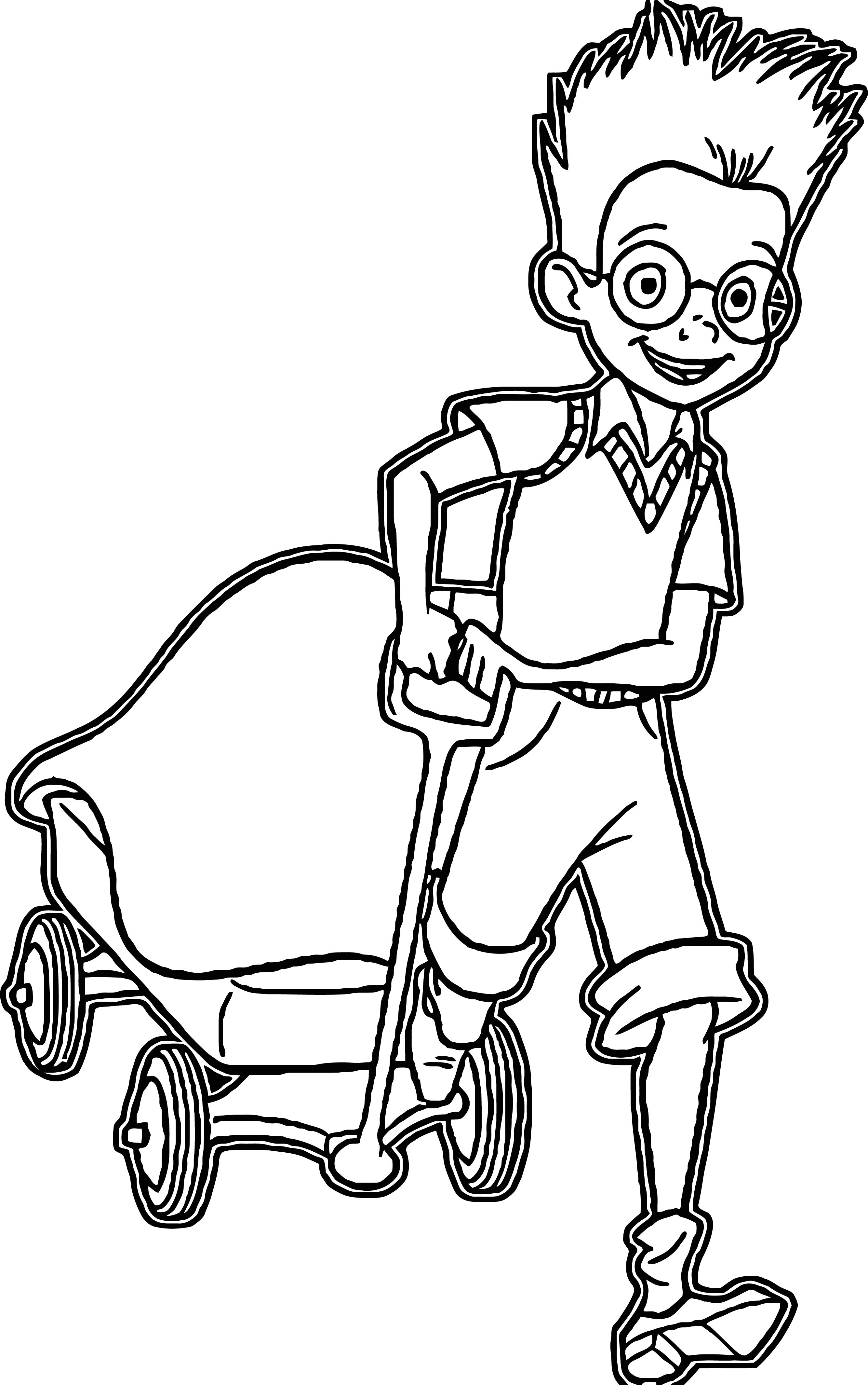 Meet The Robinsons Coloring Page 04