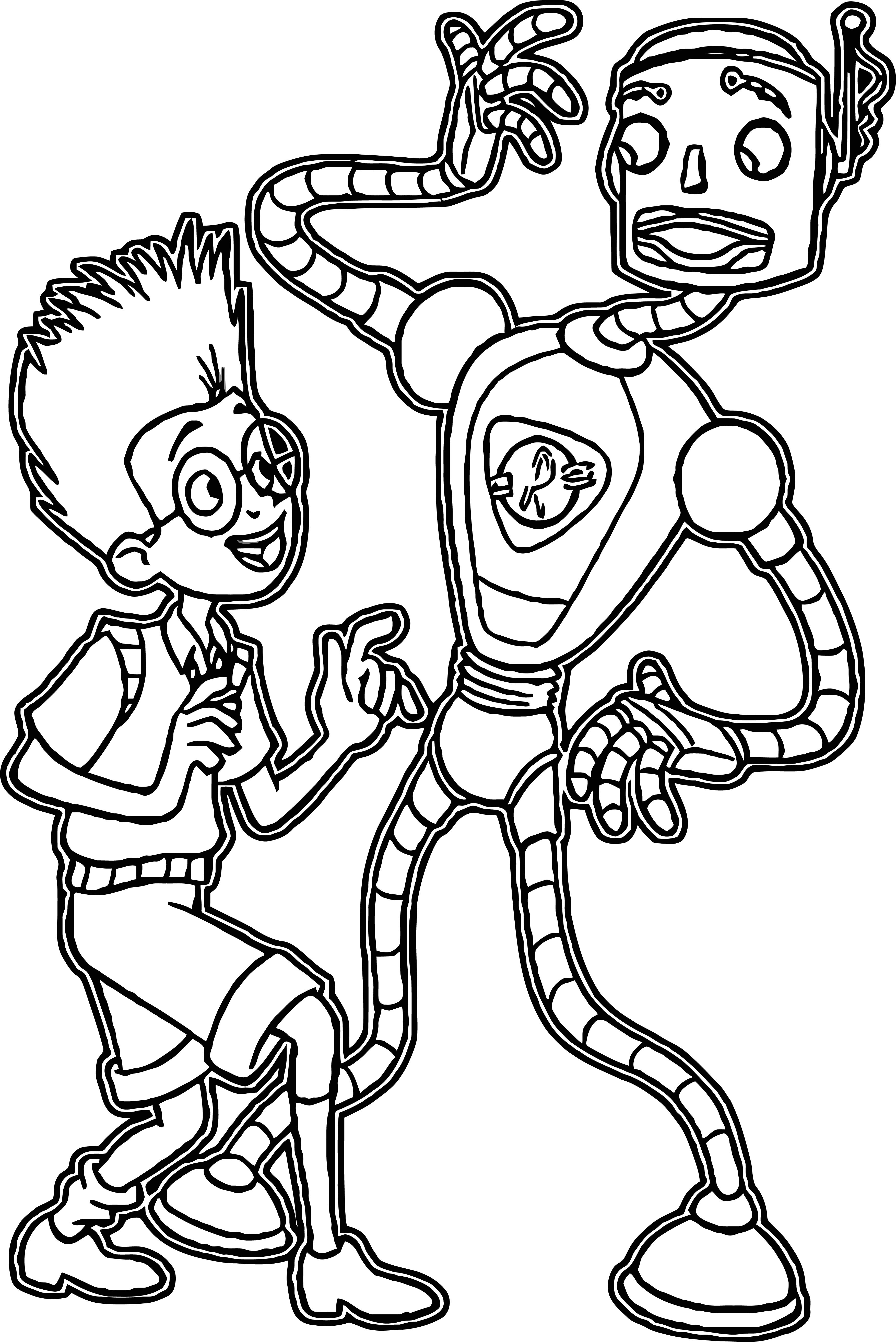 Meet The Robinsons Coloring Page 10