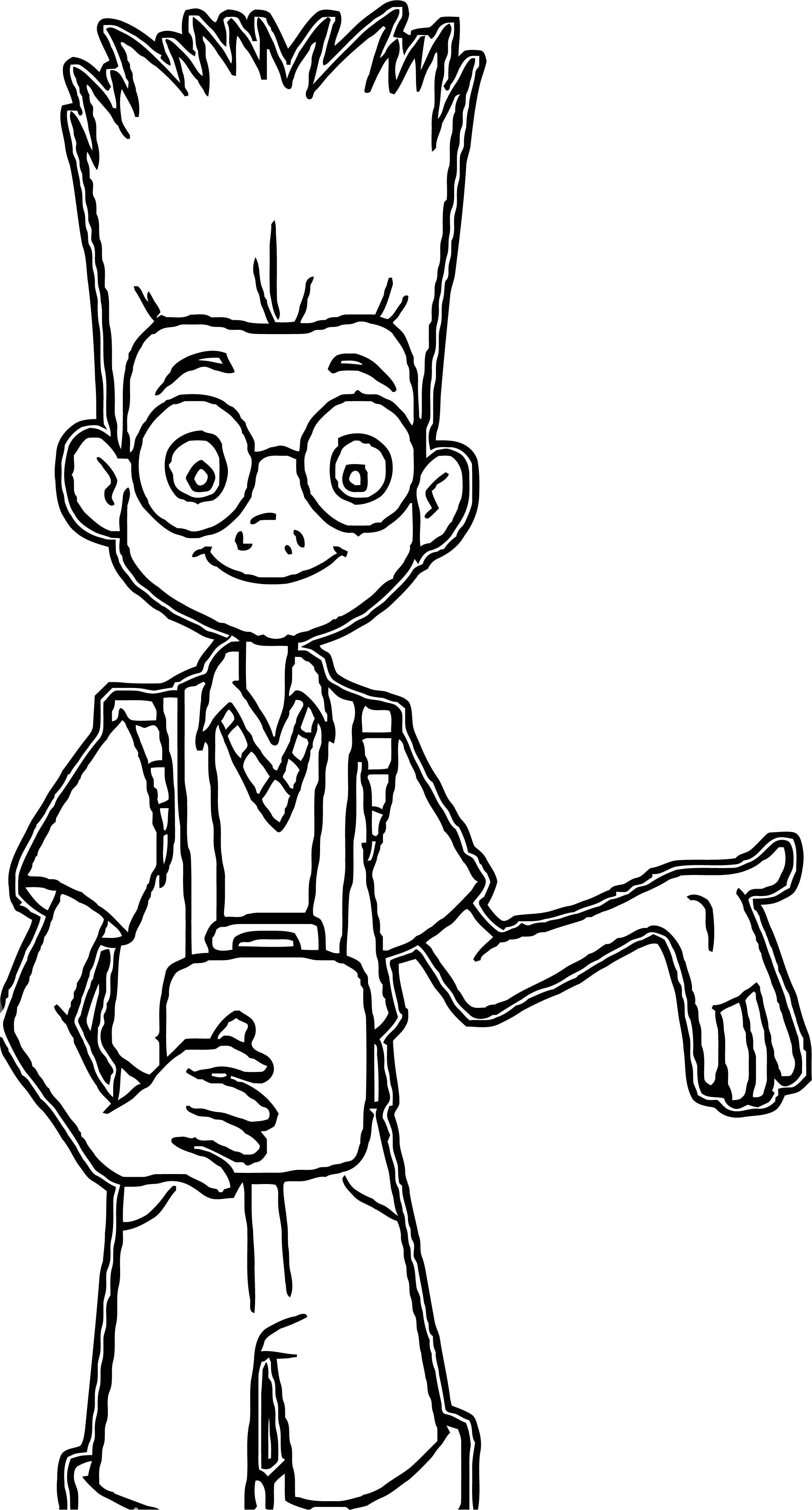 Meet The Robinsons Coloring Page 16